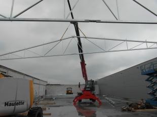Budowa Hal stalowych Montex v4 - w trakcie realizacji 04 2016