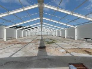 Hala stalowa | Projektujemy i wykonujemy wszelkie pomieszczenia stalowe, w tym o wielkich gabarytach hale stalowe o powierzchni nawet 80 000m2